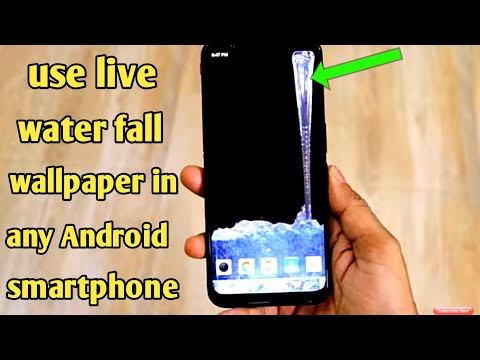 Install Samsung Galaxy S10 Water Fall Wallpaper In Any Android Smartphone | Best Android Wallpaper