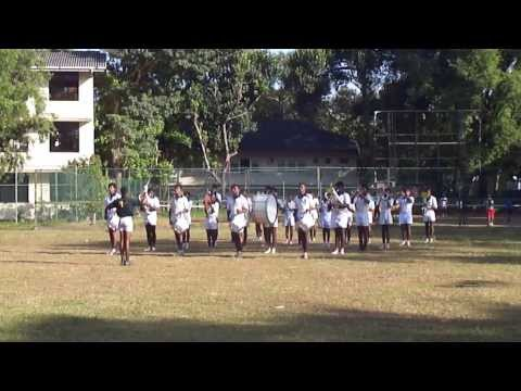D.S.Senanayake College Colombo Western Cadet Band 2013