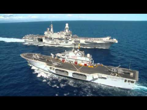NATO Warships in Action in Brilliant Mariner 13 (HD)