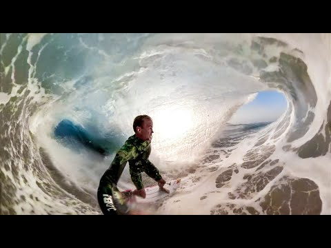 Jamie O'Brien Took a GoPro Fusion Into Enormous Mexican Barrels and the Footage Is Incredible