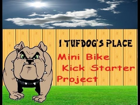 kick bike mini starter