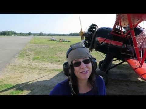 Flying High Above Ottawa, Canada in a Vintage Biplane!