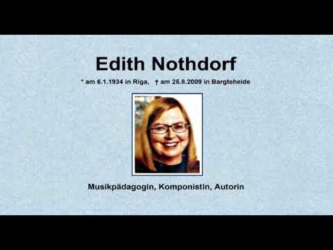 Intro für Kanal Edith Nothdorf