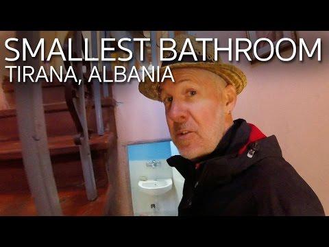 Shortest Bathroom Ever | Tirana Albania