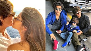 shahrukh khan son and daughter