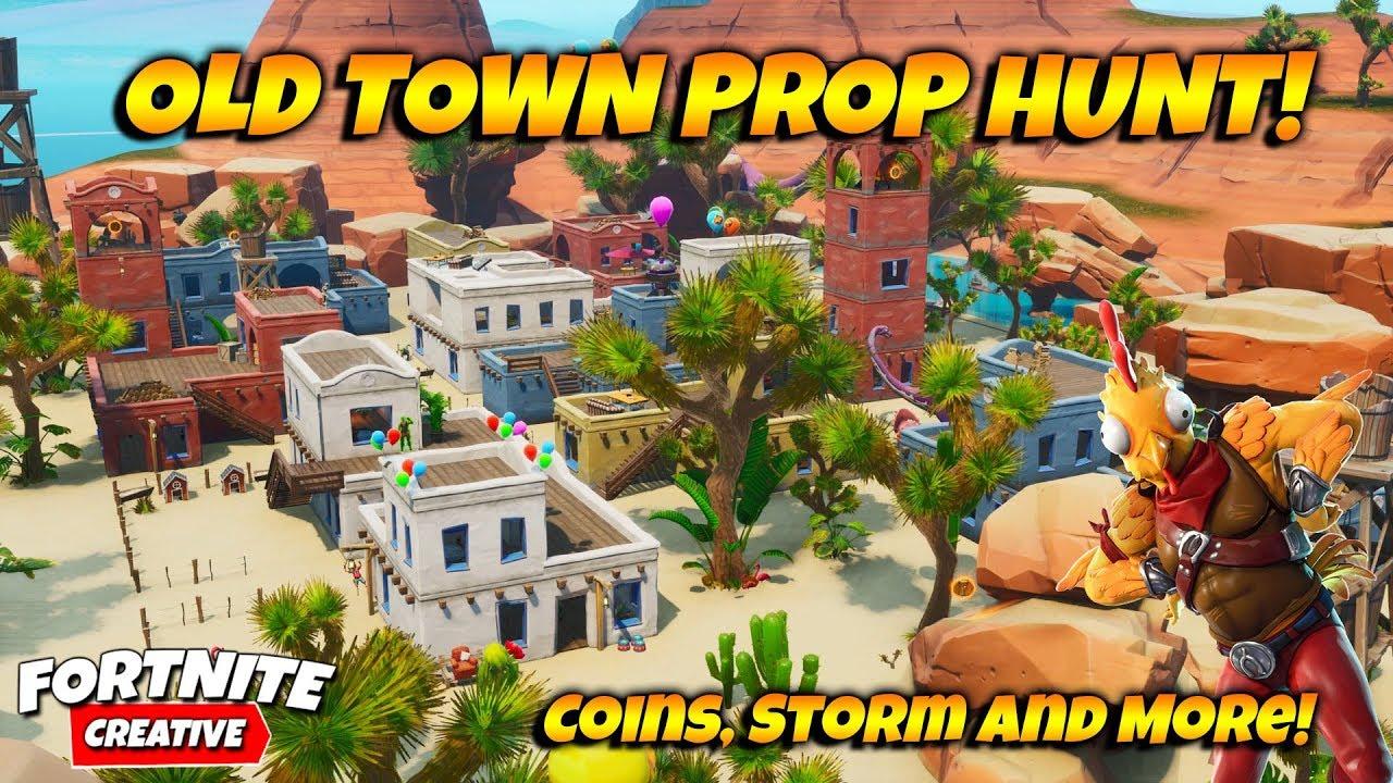 Brand New Prop Hunt Map Fortnite Creative Youtube