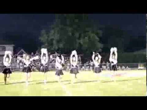 Lutheran South Academy Strutters 2013-2014 Pom Routine 8/30/13
