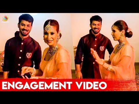 ROMANTIC 😍 Mahat & Prachi Set the Dance Floor on Fire   Engagement Video