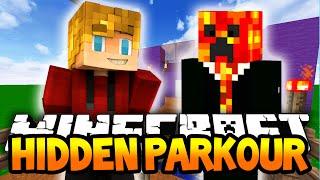 Minecraft HIDDEN PARKOUR! (Minecraft Parkour Adventure) w/Lachlan & Preston