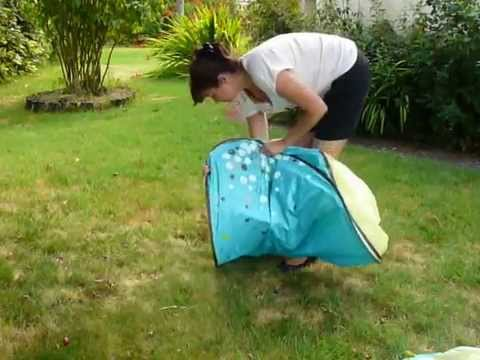 & Tente anti UV Babymoov : Pliage - YouTube