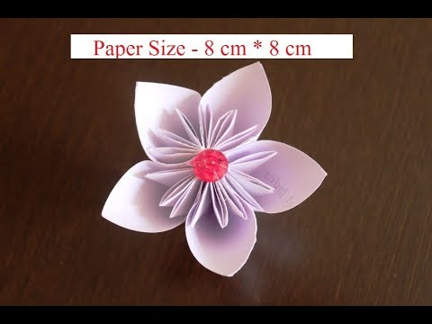 DIY - How to Make a kusudama Paper Flower    Very Easy to Make.