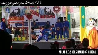 AKSI HEROIK SAMPE DI SAWER - MILAD BEKSI MANDOR MINGGU YANG KE-2