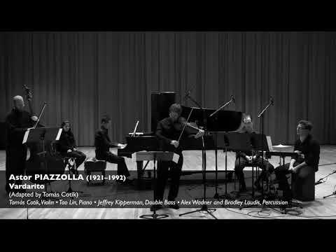 PIAZZOLLA:  Vardarito - Vardarito - Tomas Cotik, violin - Tao Lin, piano