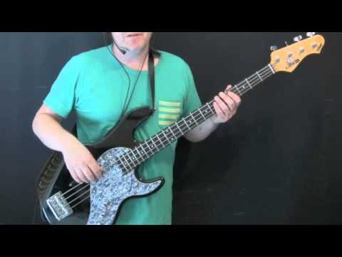 how to play stay with me on bass