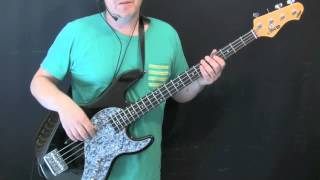 How To Play Bass To Take Me To The River (commitments)