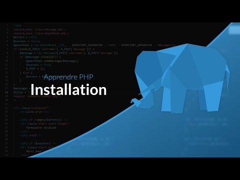 Apprendre Le PHP : Chapitre 3, Installer PHP Sur Windows