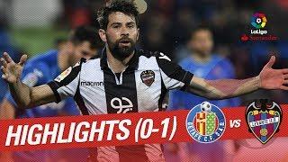 Resumen de Getafe CF vs Levante UD 0-1