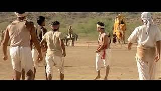 Lagaan Epic Scene - Management Skills, Control of group behavior, Superb Scene