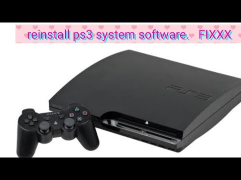 How To Reinstall Ps3 System Software (easy Way)