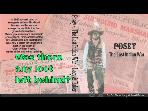The last Indian war was in 1923, Chief Possey, who was he.