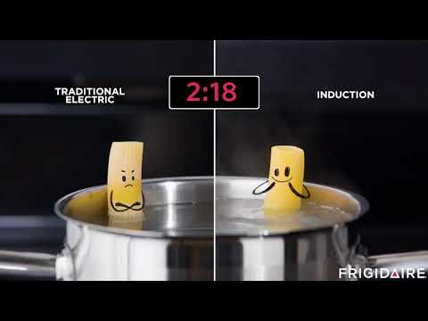 Frigidaire - Induction Cooktop Boils Water Faster