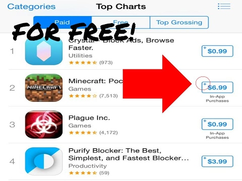How to get all apps free on the App Store