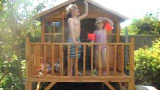Our New Wooden Childrens Playhouse