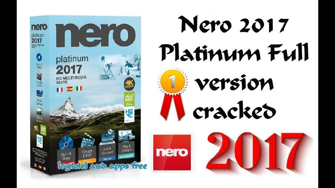 nero 2017 platinum 18.0 serial