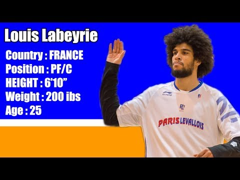 Louis Labeyrie (France) - New York Knicks Orlando Summer League Highlights - July 2017