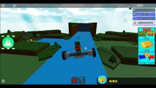levitation glitch on build a boat for treasure (ROBLOX)