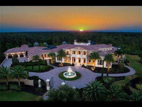 Breathtaking Italianate Estate in Bradenton, Florida