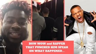Bow Wow (Shad Moss) Explains Footage Of Him Getting Punched In The Face By Future Homie Cheeks(2018)