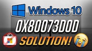 How to Fix Windows Store Error 0x80073D0D in Windows 10 - [4 Solutions 2019]