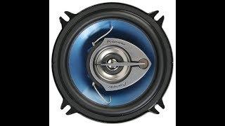 Звук коаксильной  Pioneer TS-1339 R (13 см) в задних дверях Лада Веста