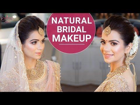 Natural Bridal Makeup | Wedding Makeup Tutorial | Indian Bridal Look | Chandni Singh
