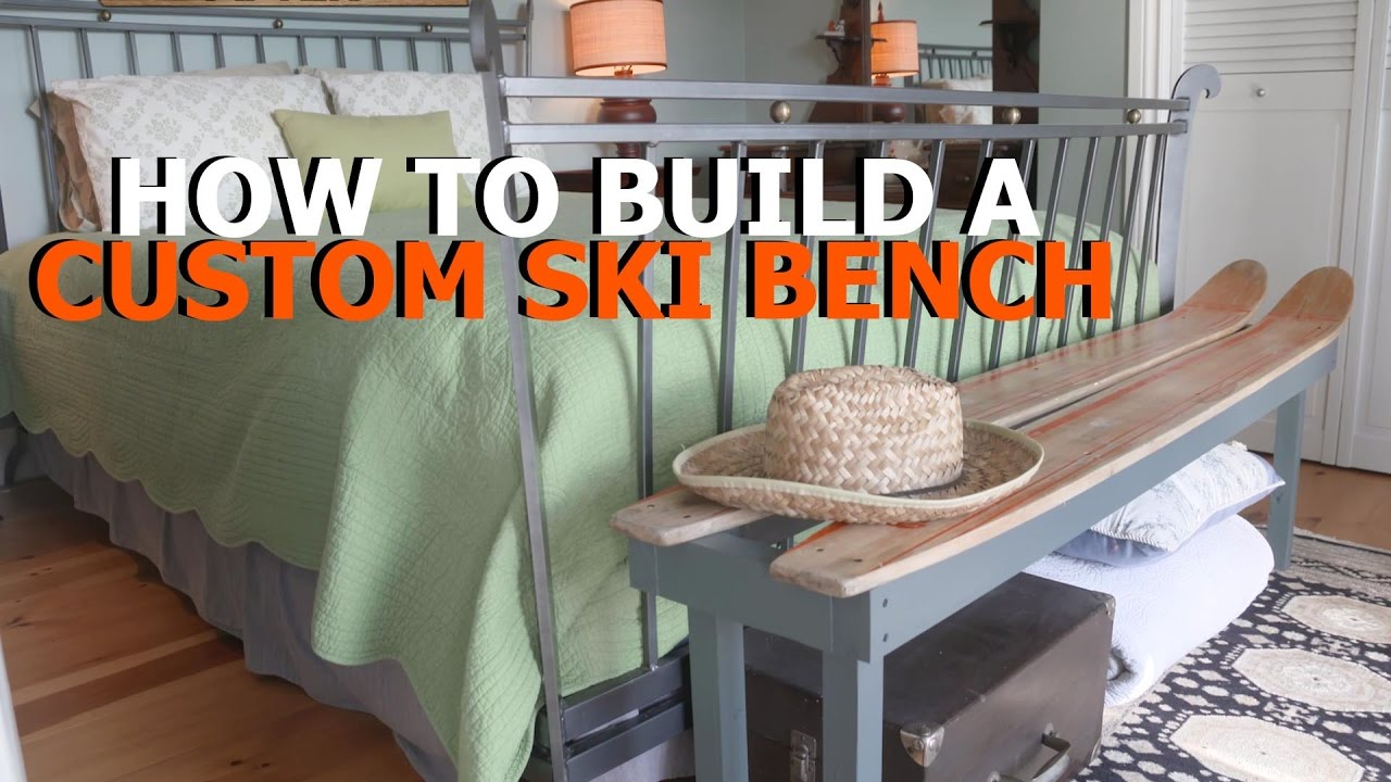 How To Make A Water Ski Bench
