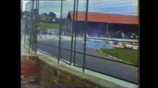 1989 Ministock Stock Car Racing Cowdenbeath Racewall