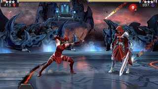 Elektra vs. Guillotine | Marvel Contest of Champions