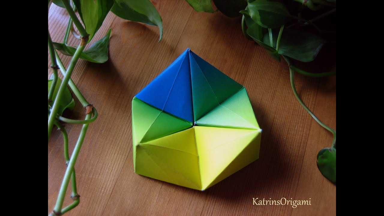 origami �� hexaflexagon �� paper toy youtube