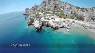 drone video view of loutraki,canal and heraion lake(, 2016-04-20T20:05:06.000Z)