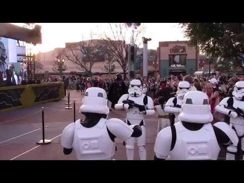 Imperial March - Darth Vader & Stormtroopers - Star Wars Galactic Nights, Disney's Hollywood Studios