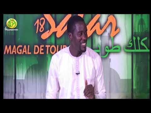 Emission Matinale  As Sabah Sur Al Mouridiyyah Tv: Kaddu Khalif Et Qacida Du Jour