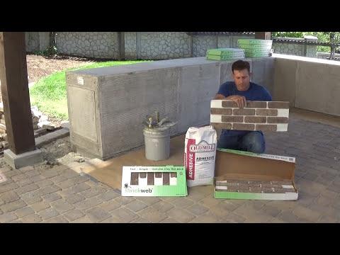 How to Install Brickweb - BBQ Island