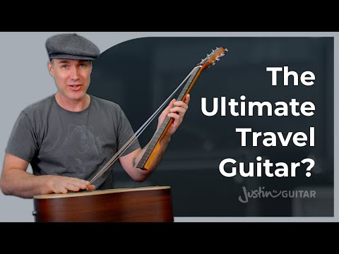 Travel Guitar Review - Carbon Fiber Vs. Wood Guitars Unboxing