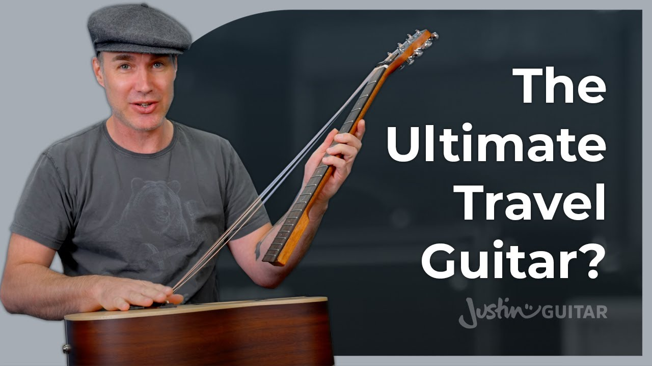 Travel Guitar Review - Carbon Fiber vs. Wood Guitars Unboxing