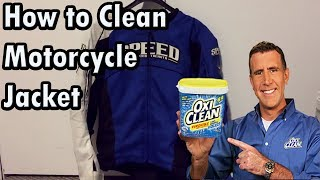 How to clean a textile motorcycle jacket | Thank you CycleCruza