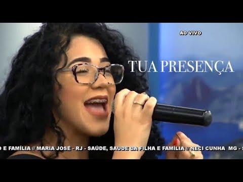 Catarina Santos - Em Tua Presença (no FALA, AMIGO Noturno, com RR Soares)