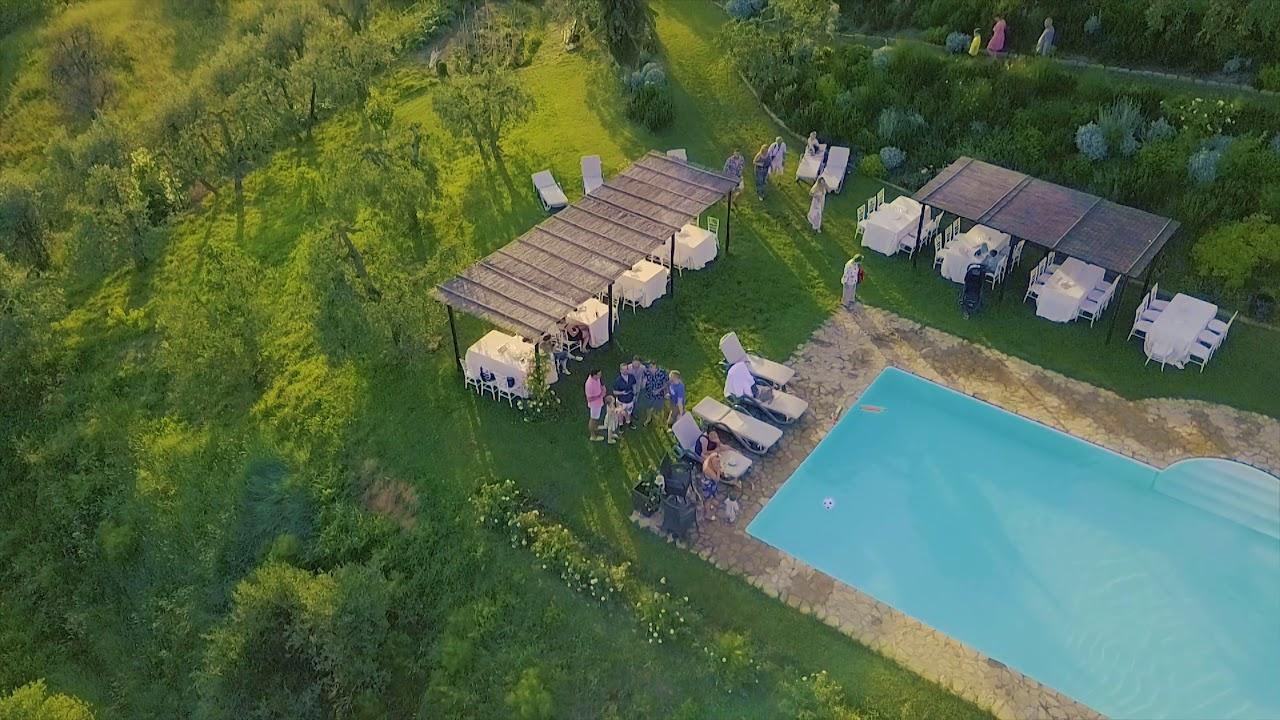 Alex U0026 Jenny   Villa Il Pozzo, Tuscany, Italy