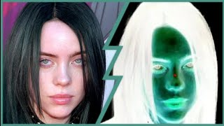 See Billie Eilish on your wall (Optical illusion)