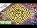 Gambar cover NEW COC TH8 best base WAR/HYBRID 2019 with REPLAY !! TH8 Base Anti Dragons – Clash of Clans